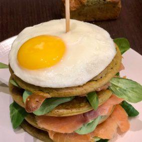 pancakes saumon oeuf