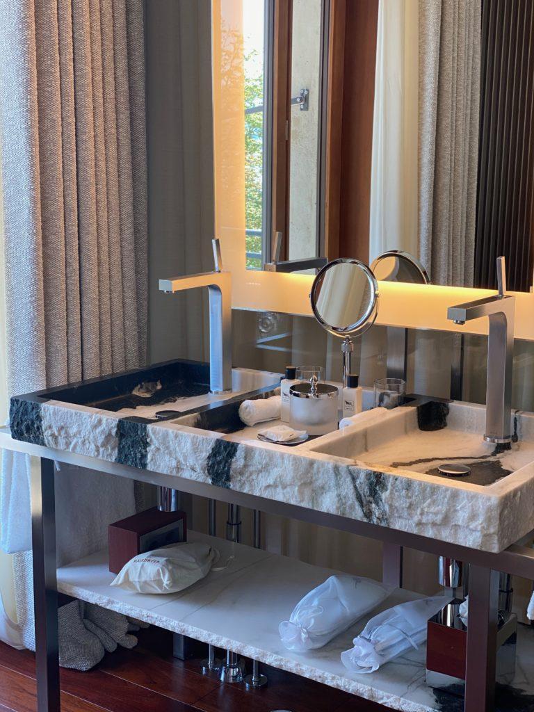 salle de bain - la Réserve Zurich